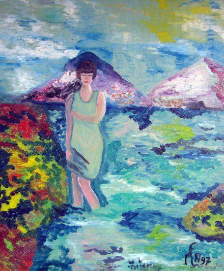Pieds dans l'eau (Corsica)
